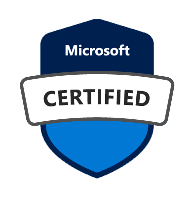 Microsoft certified badge
